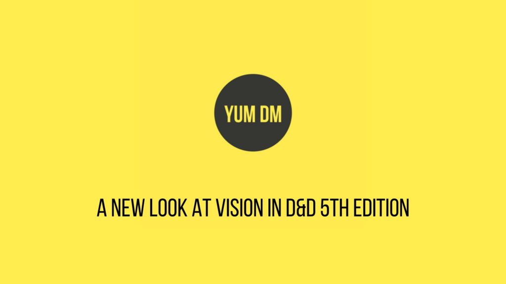 Yum DM A New Look at Vision